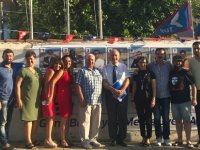 Sümer Aygın, TDP Belediye Meclisi adayları ile toplantı gerçekleştirdi