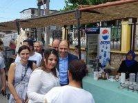 HP Dipkarpaz ve Mehmetçik'i ziyaret etti