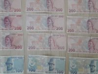 Sahte 100 ve 200 TL'lik banknot ele geçirildi