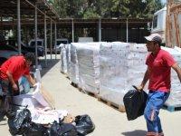 Güvercinlik yolunda ele geçirilen 6 ton kaçak et Gazimağusa Belediyesi'nin çalışmasıyla imha ediliyor