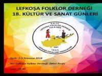 Folk-Der 18. Kültür Sanat Günleri yarın başlıyor