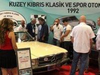 1. Klasik Otomobil Festivali'nde KKTC'yi temsil edildi