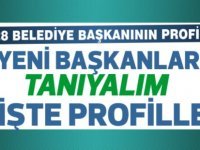28 Belediye başkanının profili...
