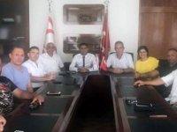 BES'ten Alsancak Belediye Başkanı Fırat Ataser'e ziyaret