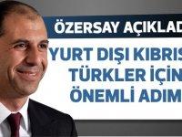 Yurt dışında yaşayana Kıbrıslı Türklerle ilgili önemli adımlar atılacak
