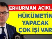 Başbakan Erhürman basın toplantısında önemli açıklamalar yaptı