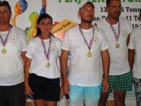 GMB Plaj Tenis Turnuvası tamamlandı