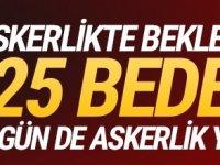 Türkiye'de Bedelli askerlikten 31 Aralık 1993'ten önce doğanlar yararlanacak