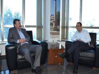 ÖDP başkanı Taş Harmancı'yı ziyaret etti