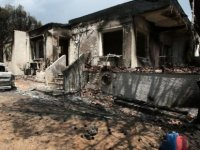 Yunanistan'da yangın, ölü sayısı 91