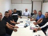 Antrenörler derneği yönetimi toplandı