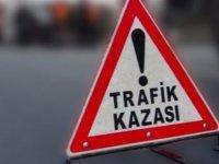 Dikmen-Boğazköy Anayolu'nda meydana gelen trafik kazasında 3 kişi yarandı