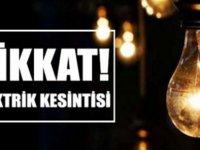 Girne'de elektrik kesintisi olacak