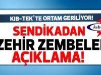 KIB-TEK'te belirsizlik... Özkıraç, Kıb-Tek YK Başkanı Onurhan'ı istifaya çağırdı...