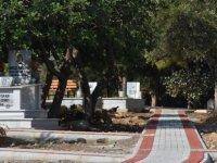 Zeytinlik Mezarlığı'nda altyapı, çevre ve peyzaj düzenlemesi
