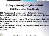 Dünya Fotoğrafçılık Günü etkinliklerle kutlanıyor