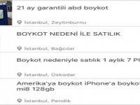 Erdoğan boykota davet etti vatandaşlar iPhone'larını satılığa çıkardı