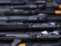 Limasolda silah dükkanından 13 tane silah çalındı
