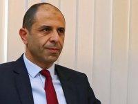 Özersay İtalya Dışişleri Bakanı'na taziye mesajı gönderdi