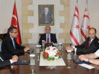 Cumhurbaşkanı Akıncı hükümet ortaklarıyla görüştü