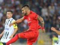 Beşiktaş, Negredo'nun golüyle bir üst tura yükseldi