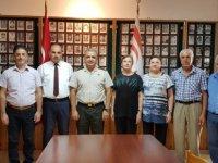 39. Tümen Komutanı Şener'den şehit aileleri ve malül gaziler derneği'ne veda ziyareti
