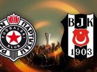 Maç sonucu | Partizan Beşiktaş 1-1 (UEFA Avrupa Ligi Play Off)