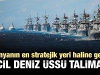 'TC Deniz Kuvvetleri, Kuzey Kıbrıs'a kapsamlı bir üs kurulmasını önerdi'