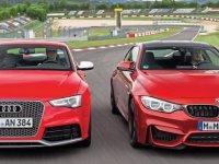 Audi ile BMW birbirine girdi!