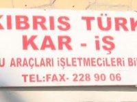 "KAR-İŞ: ""Sürekli mazot zammı bizi çıkmaza soktu"""