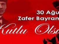 Dernekler 30 Ağustos Zafer Bayramı dolayısıyla mesaj yayımladı