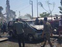 Azez'de bomba yüklü araç patlatıldı: Ölü ve yaralılar var