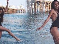 Dilan Çiçek Deniz, Victoria's Secret seçmelerine katıldı