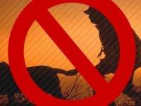 Kanunsuz av gerçekleştiren 4 kişi hakkında yasal işlem