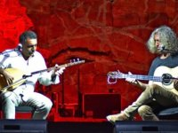 Ahmet Aslan – Erdal Erzincan Festival seyircisine müzik ziyafeti sundu