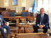 Özyiğit, TC Kültür ve Turizm Bakanı Ersoy ile görüştü