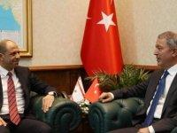 Özersay'ın Ankara'daki temasları sürüyor