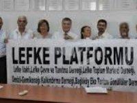 Lefke Platformu eylem yapacak