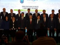 Harmancı, Dünya İdari Kentler Birliği genel kurul toplantısı'na katıldı
