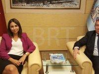 İçişleri Bakanı Baybars Ankara'da