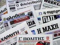 Basın Çalışanlarının Eylemi Rum Basınında