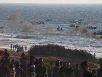 İsrail'den Gazzeli aktivistlere gerçek mermiyle saldırı