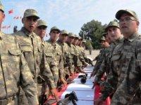 """Algan: """"Mehmetçik ve mücahit omuz omuza Kıbrıs türkü'nün güvencesidir"""""""