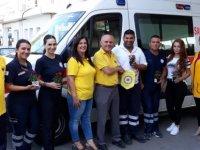 Lefkoşa Merkez Lions Kulübü'nden Dr. Burhan Nalbantoğlu Devlet Hastanesi'ne ziyaret