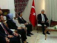 Bozkır ve heyeti Meclisi Başkanı Uluçay tarafından kabul edildi