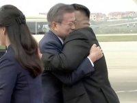 11 yıl sonra bir ilk: Güney Kore lideri Moon, Kuzey Kore'de
