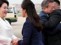 Kuzey ve Güney Kore liderleri buluştu