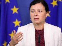 Vera Jourova güneyde temaslarda bulunuyor