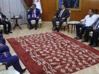 Erhürman Silifke Ticaret ve Sanayi Odası Yönetim Kurulu'nu kabul etti