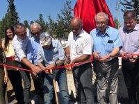 ''Madenci Heykeli'' dün iki toplumun katılımıyla açılışı yapıldı